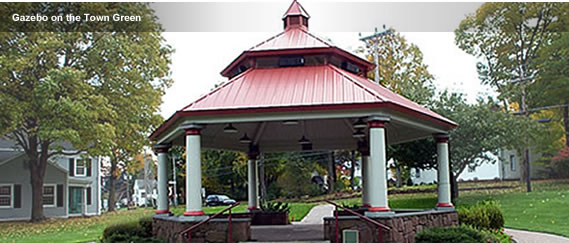 Gazebo on the Town Green